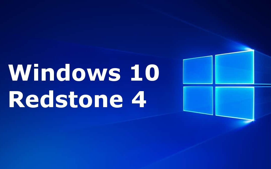 La actualización Redstone 4 de Windows 10